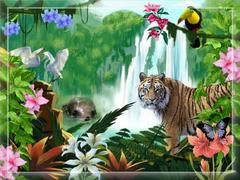 bajka dla dzieci - tygrys